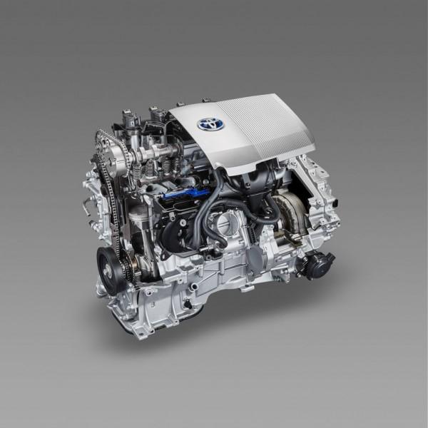 4代目プリウスエンジン