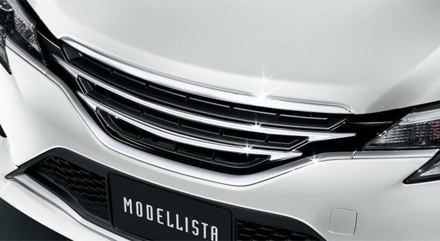 新型マークX モデリスタ フロントグリル