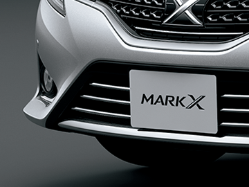 新型マークX フォグランプ