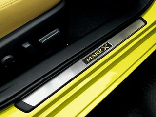 新型マークX ドアスカッフプレート