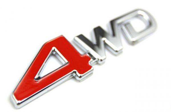 クローム-4wd-エンブレム-テール-バッジ-フェンダー標準車カバー-トリム外装アクセサリー-ボディ装飾3d-ステッカー-トヨタ-rav4