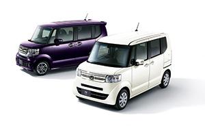 ホンダNボックス 紫&白 2台