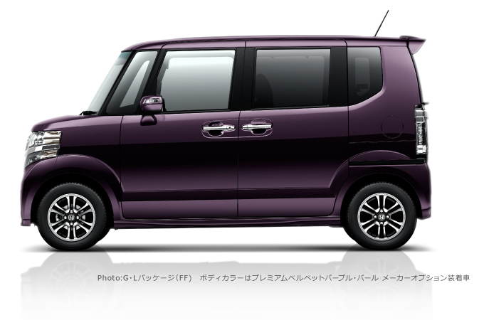 左向き 紫