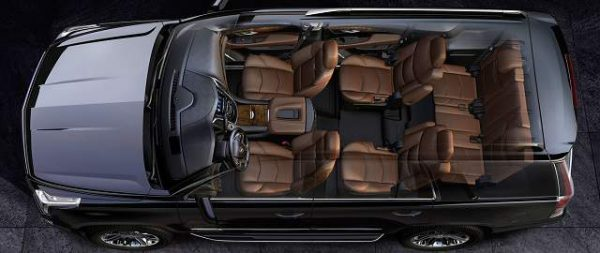 2017-Cadillac-Escalade-top-view-interior