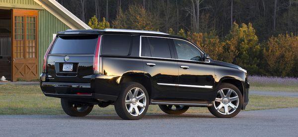2015 Cadillac Escalade; Black Raven; Bluffton, South Carolina; April 2014