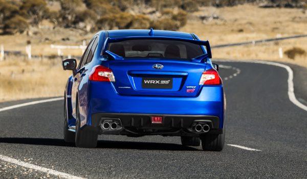 MY18 Subaru WRX STI STI Spec R , WR blue.