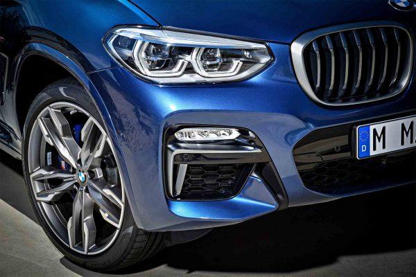 2018-BMW-X3-xDrive-M40i-front-detail