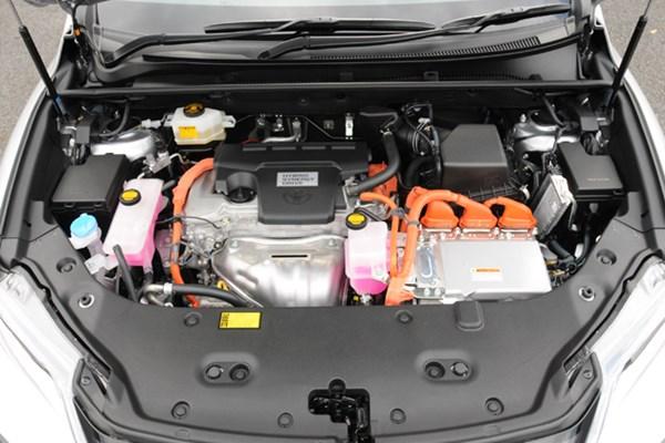 トヨタハリアーハイブリッドのエンジン
