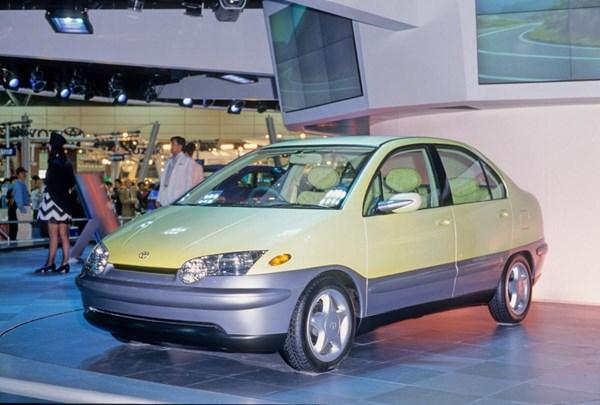 1995年東京モーターショーのプリウス