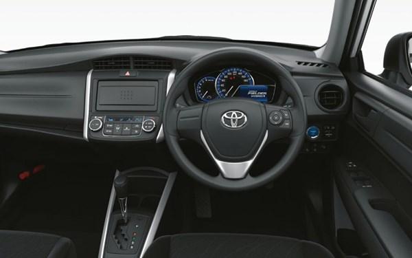 トヨタカローラフィールダーの内装