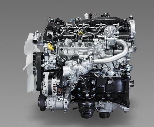 トヨタの1GD-FTV型エンジン