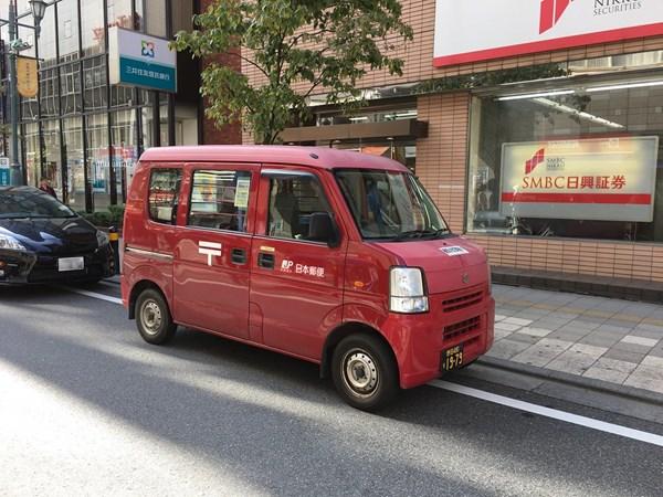 スズキエブリィ日本郵便仕様